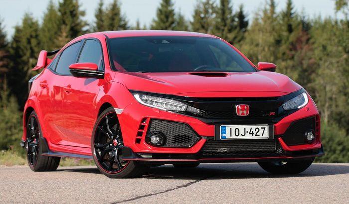 Civic Type R Release Date >> Testissa Honda Civic Type R 320 Hevosvoimaa Kiihdyttaa