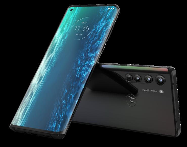 Motorola edge Solar Black -värinä.