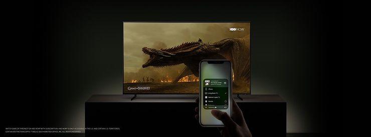 AirPlay 2 -tuki tulee myös Samsung-televisioihin.