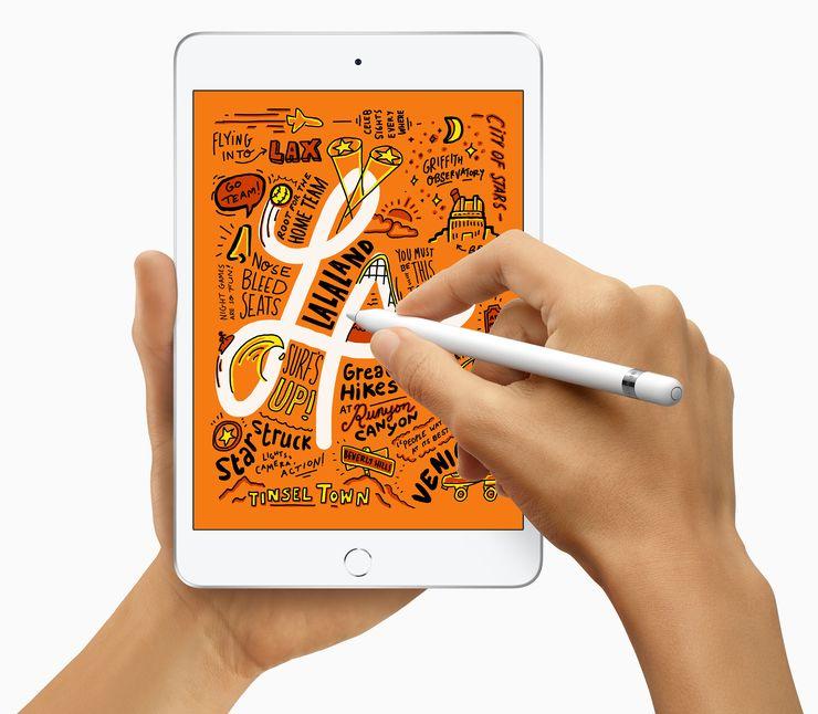 Uusi iPad mini.