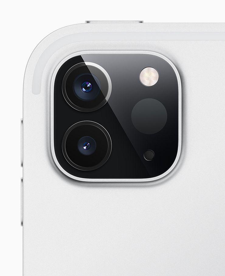 Uudet iPad Prot sisältävät kaksi kameraa ja LiDAR-skannerin.