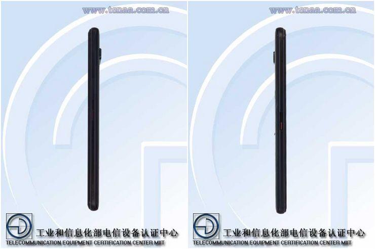 Asus ROG Phone 3 kiinalaisviranomaisen TENAAn kuvissa.