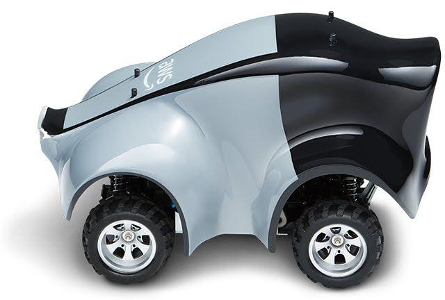 Itseohjautuva, koneoppimiseen perustuva AWS DeepRacer -miniauto.