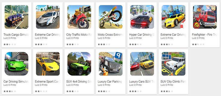 """Ethän ladannut näitä """"ajopelejä"""" Android-laitteellesi?."""