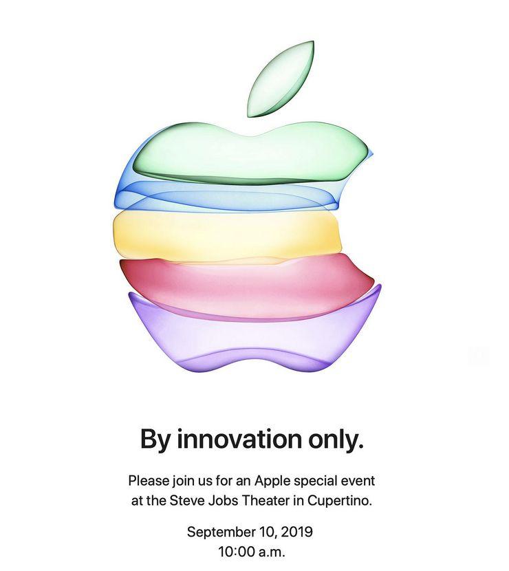Applen kutsu 10. syyskuuta järjestettävään tilaisuuteen.