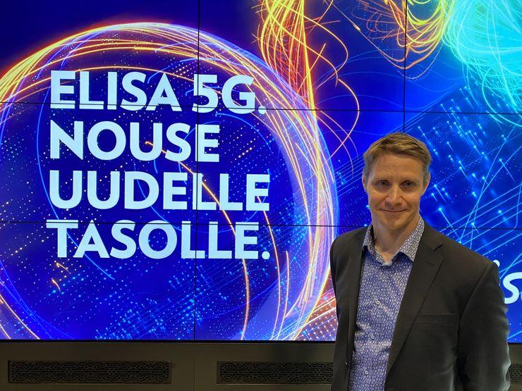 Elisan Sami Rajamäen mukaan 5G-verkossa tapahtuu kehitystä koko ajan.