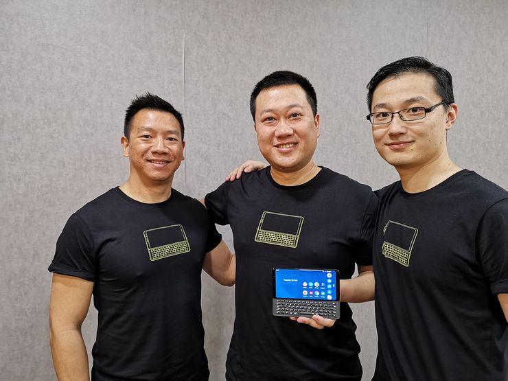 F(x)tecin perustajat Adrian Li Mow Ching, Liangchen Chen ja Leon Xiong Feng.