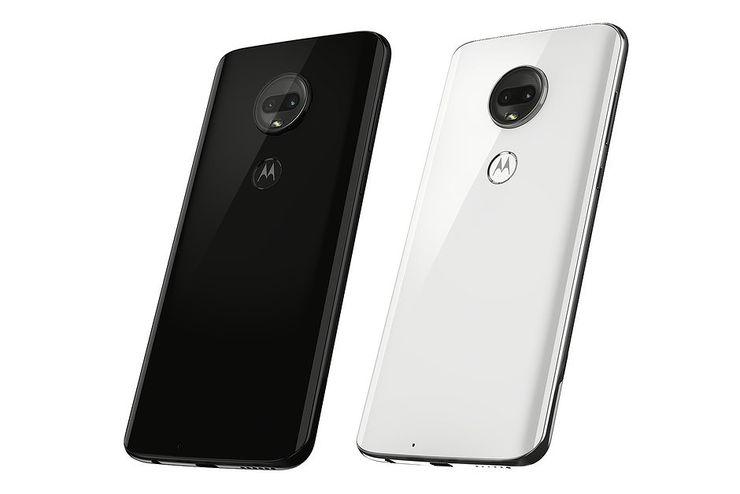 Moto G7 julkaistaan mustana ja valkoisena.