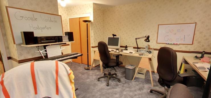 Googlen ensimmäinen päämaja sijaitsi nykyisen YouTube-pomon asunnossa.