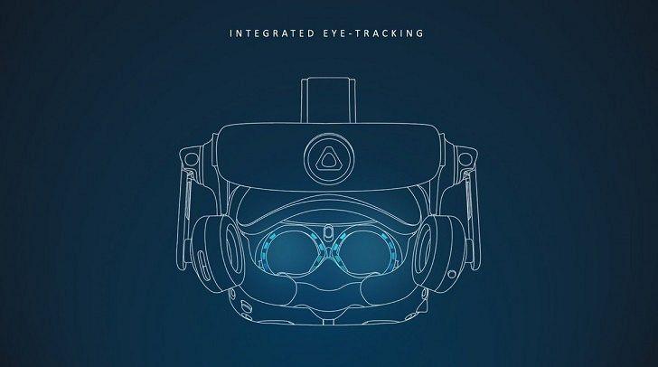 Vive Pro Eye sisältää uudenlaista teknologiaa.