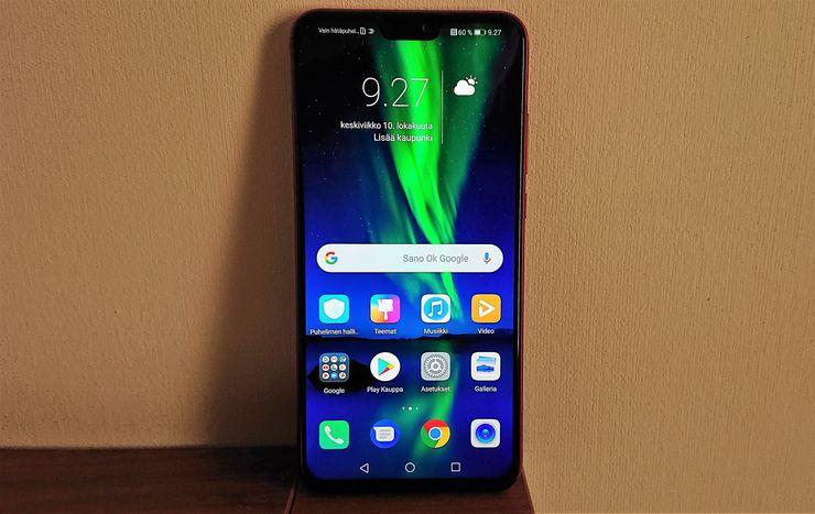 Kokonaisuutena Honor 8X vaikuttaa pätevältä alemman keskihintaluokan älypuhelimelta.