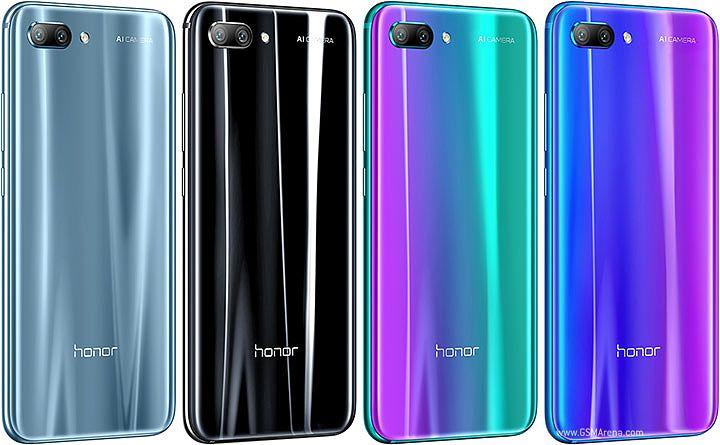 Honor 10:n värivaihtoehdot.