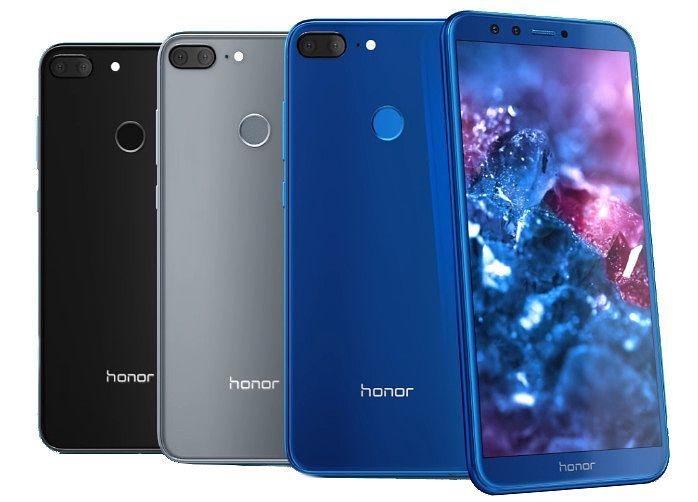 Hillitympien mustan ja harmaan ohella Honor 9 Liten värivaihtoehtona on myös pirteämpi sininen.
