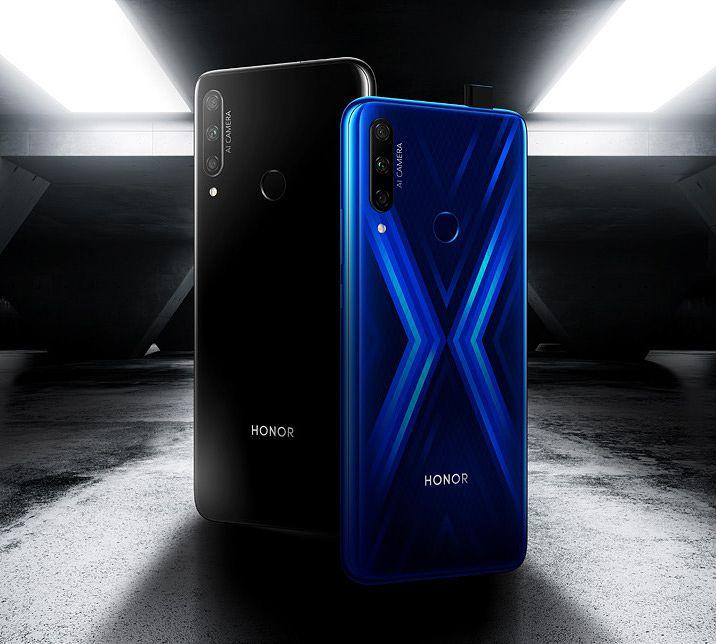 Honor 9X:n värit.