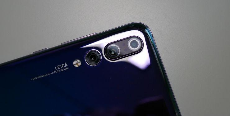 Huawei P20 Prossa on kolme takakameraa.