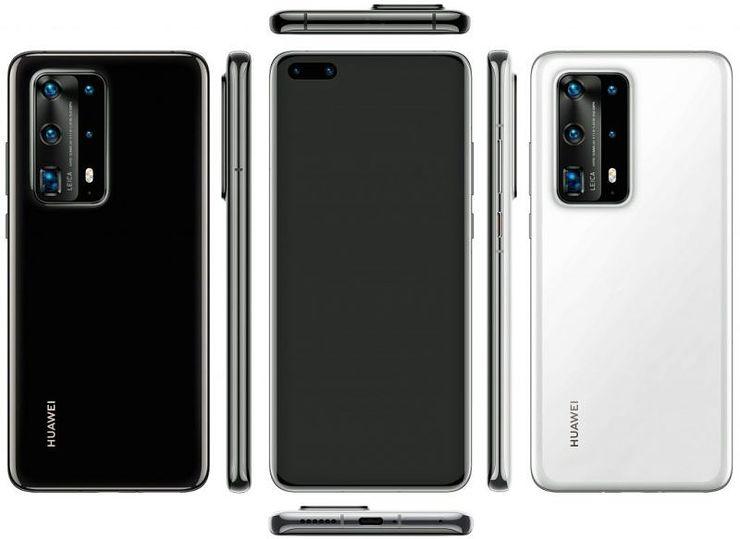 Huawei P40 Pro Premium Edition. Kuva: @evleaks.