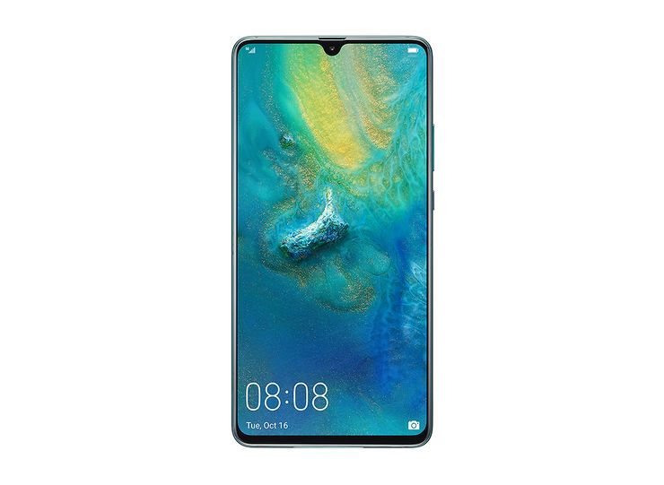Huawei Mate 20 X 5G:ssä on 7,2 tuuman OLED-näyttö.