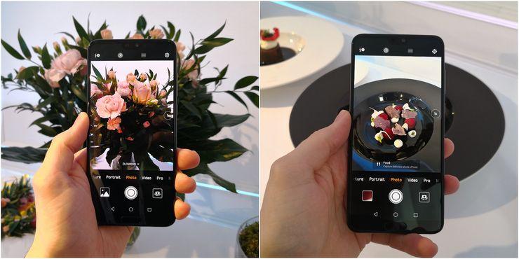 P20:n ja P20 Pron kamerat osaavat edelleen tunnistaa eri kuvauskohteet, nyt aiempaa monipuolisemmin.