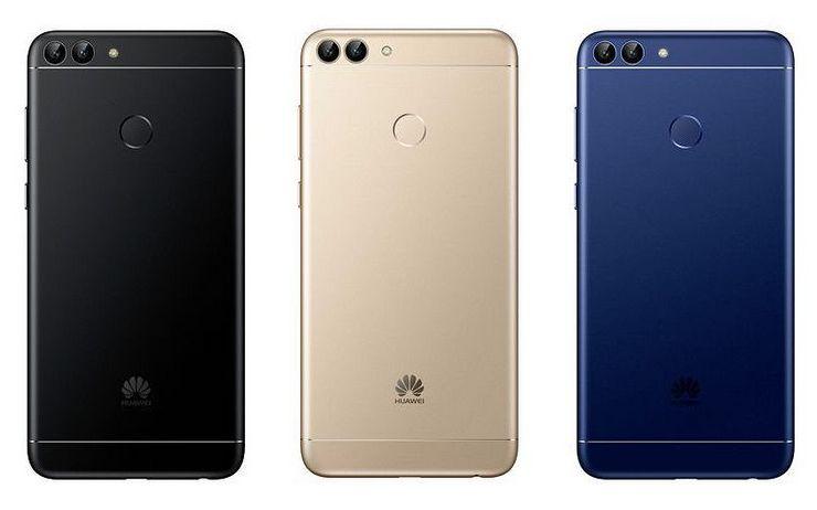 Huawei P Smartin kolme värivaihtoehtoa Suomessa.