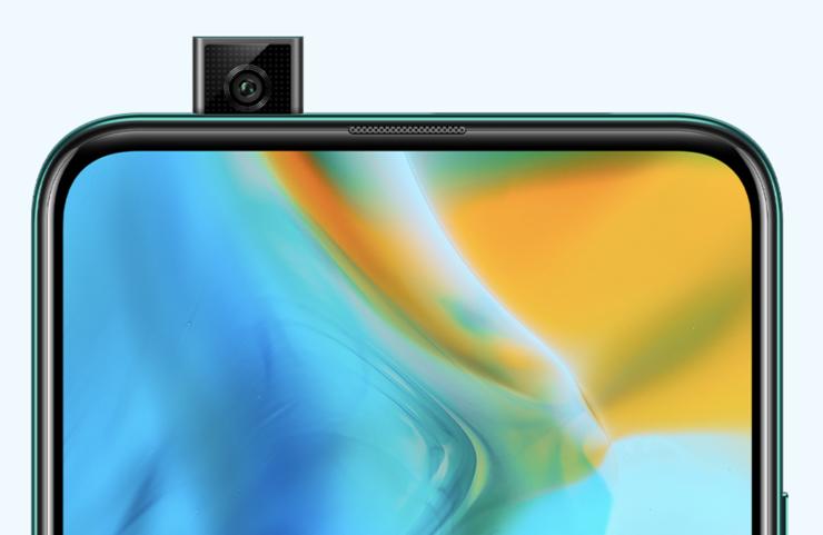 Huawei P Smart Z:n etukamera.