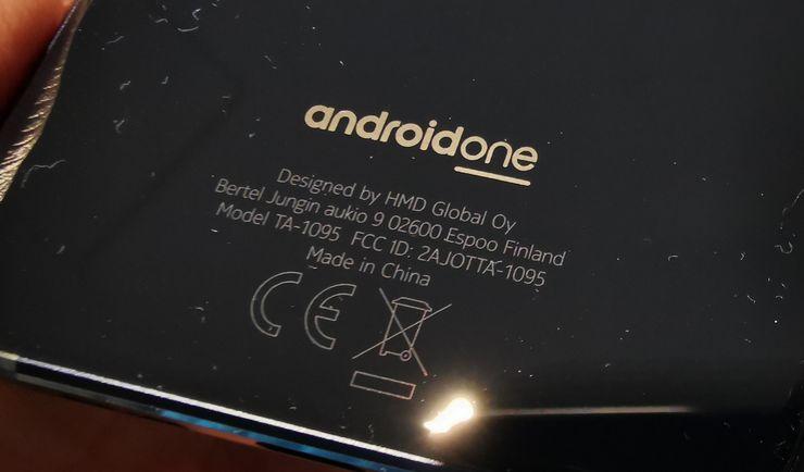 Bertel Jungin aukio 9 mainitaan myös jo Nokia 7.1:n takapinnassa.