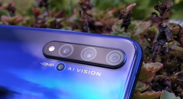 Hionor 20 sisältää neljä takakameraa.
