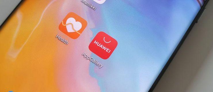 Google Play -kaupan korvaa Huawein AppGallery.