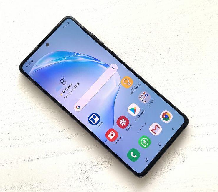 Testissä Samsung Galaxy Note10 Lite: Huippuluokkaa