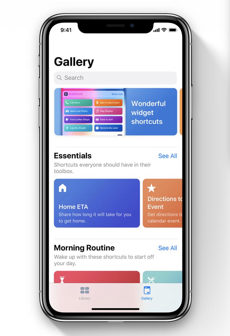 iOS 12:n myötä tarjolle tulee myös uusi Oikotiet-sovellus.