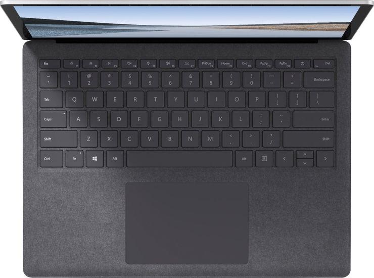 Sisältä alcantara-pintainen pienempi Surface Laptop 3.