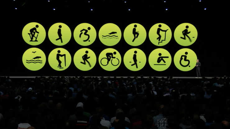Apple Watch tukee yhä monipuolisempaa liikuntaa.
