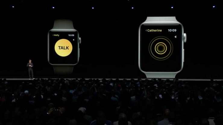 Uusi radiopuhelimen kaltainen Walkie-Talkie-sovellus.