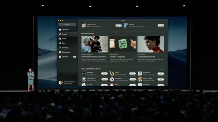 Applen macOS:n uusi sovelluskauppa.