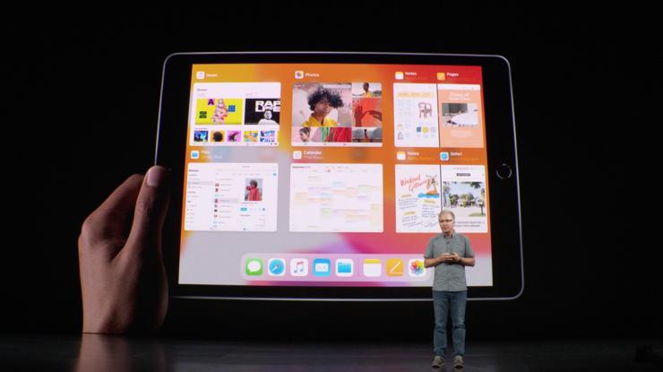Moniajo iPadOS:llä.