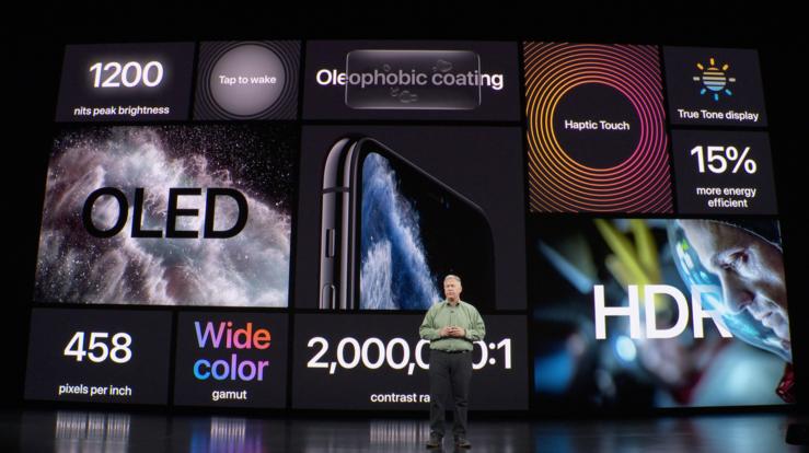 iPhone 11 Pro -mallit tarjoavat monessa suhteessa aiempaa paremman näytön.