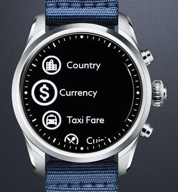 Esiasennetulla Travel Info -sovelluksella voi esimerkiksi muuntaa valuuttakursseja tai katsoa taksimatkojen hintoja.