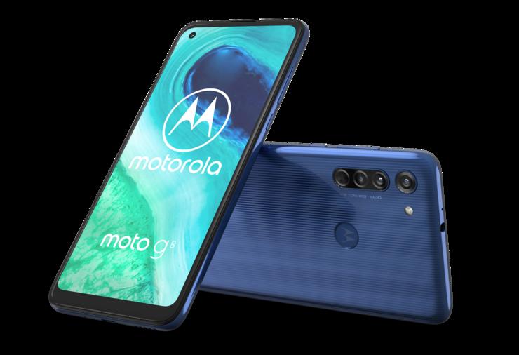 Motorola Moto G8, Neon White.