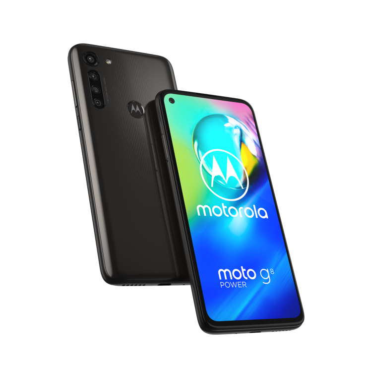 Motorola Moto G8 Power, Smoke Black.