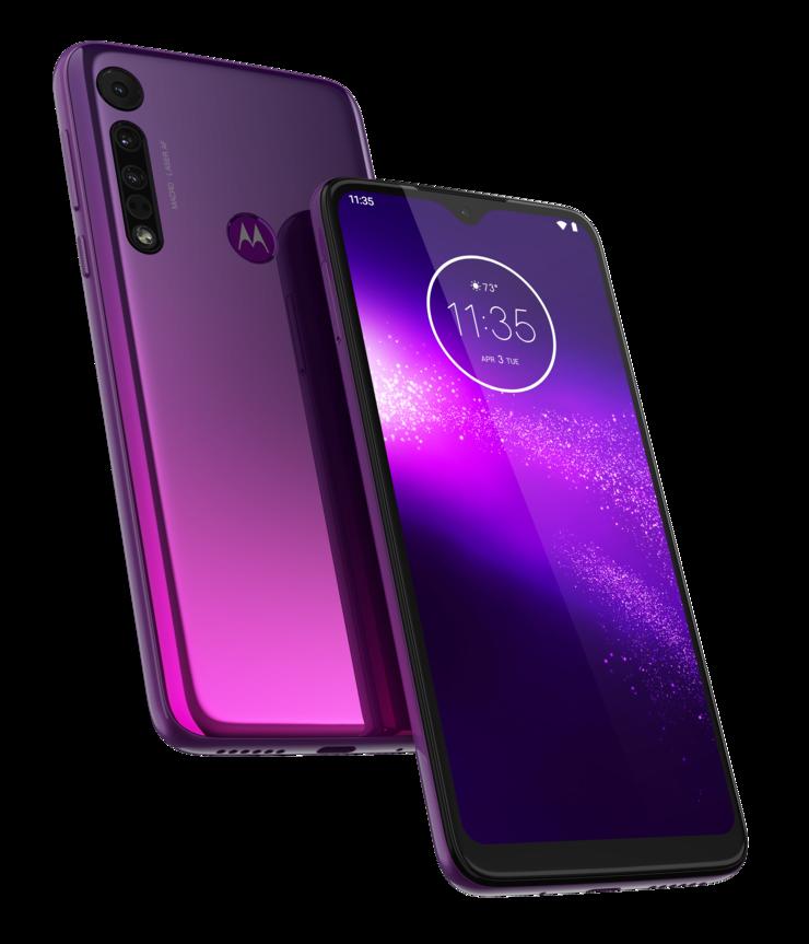 Motorola One Macro, Ultra Violet.