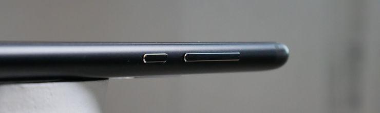 Nokia 5.1:n näppäimet ovat mukavan napakat.