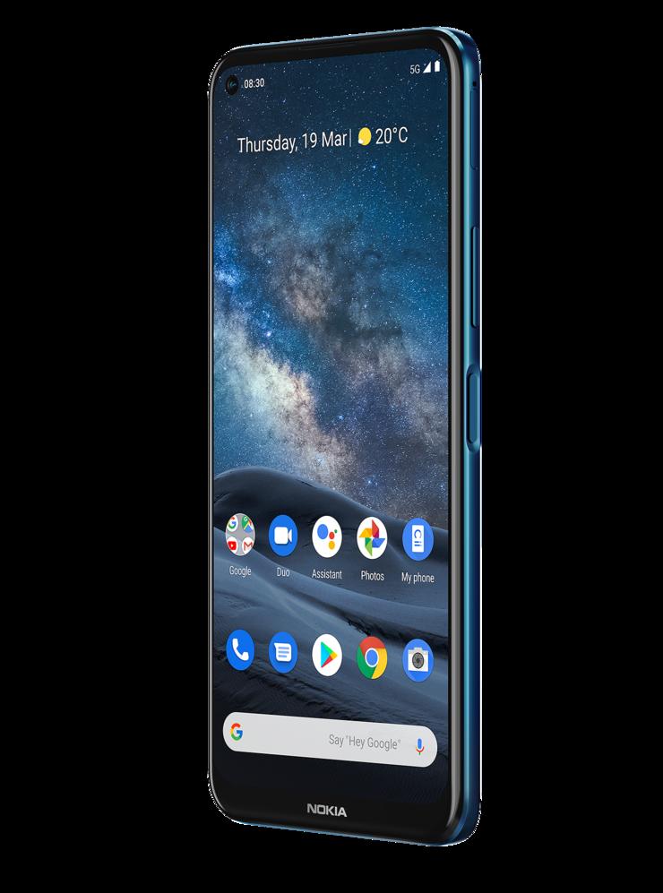 Nokia 8.3 5G:n näytön koko on peräti 6,81 tuumaa.