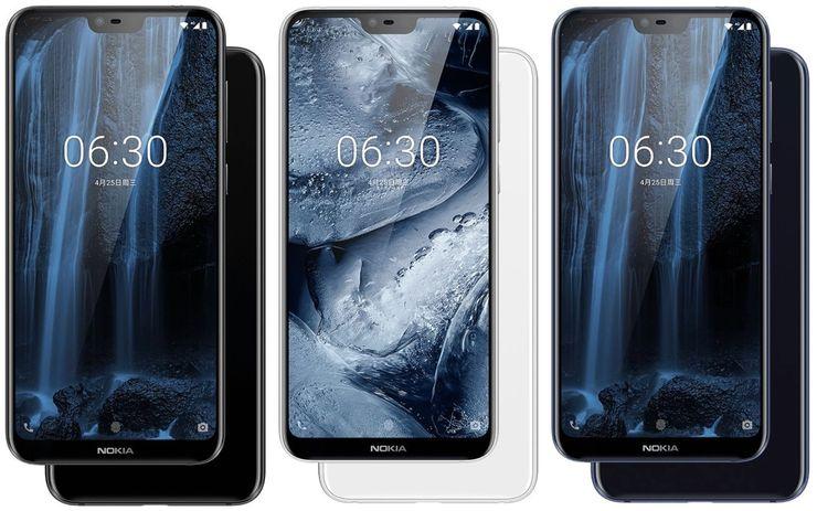Nokia X6:n värivaihtoehdot.