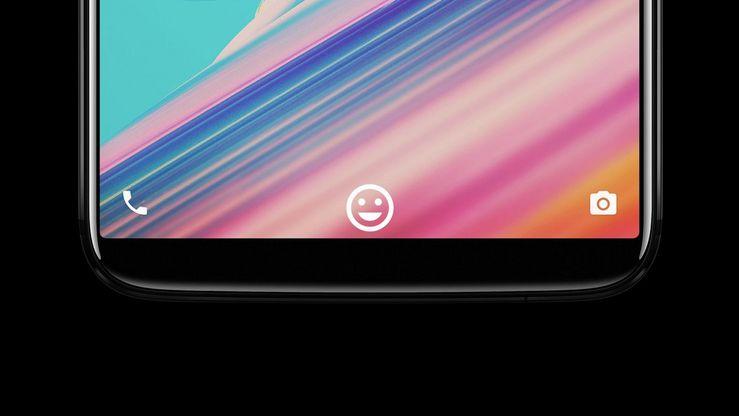 OnePlus 5T:ssä on kasvojentunnistus puhelimen lukituksen avaamiseen.