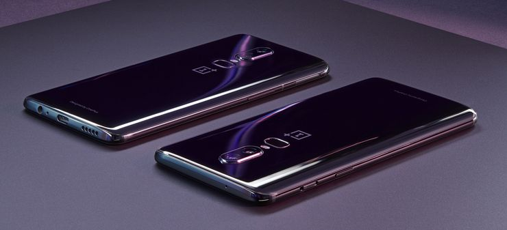 OnePlus 6 Mirror Black.
