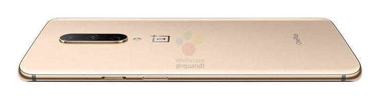 OnePlus 7 Pro Almond-värissä takaa. Kuva: WinFuture.de.