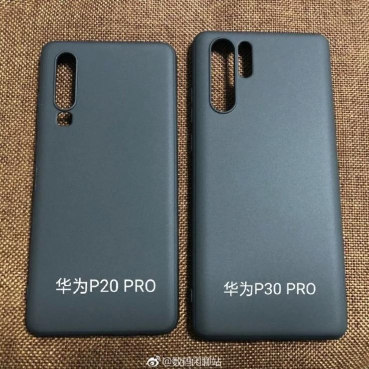 Vuotokuvat P30-kuorista ovat kertoneet P30:n ja P30 Pron kameraratkaisujen eroista.