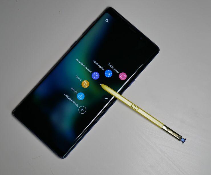 S Pen on oppinut uusia kikkoja, mutta vanhat tutut jutut ovat edelleen saatavilla.