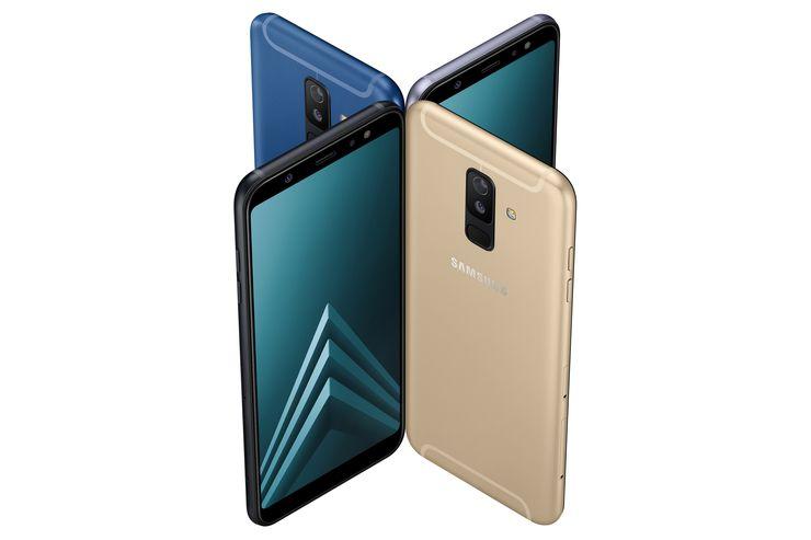 Samsung Galaxy A6+.