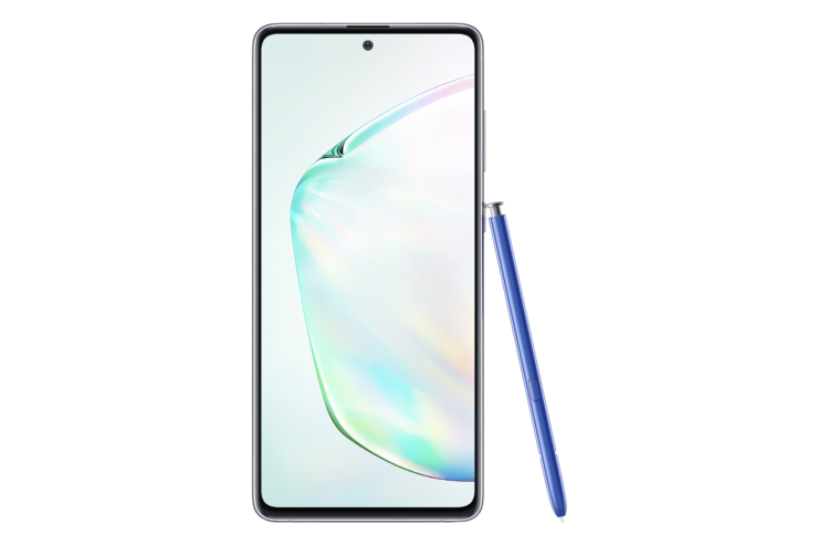 Samsung Galaxy Note10 Lite ja S Pen.