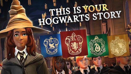 Pelaaja voi valita avatarilleen yhden Hogwarts-koulun ryhmistä.